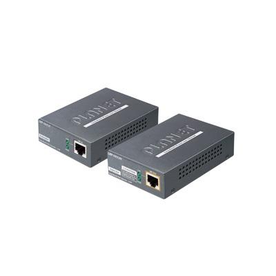Kit Transmisor y Receptor PoE de Largo Alcance sobre UTP a 2 hilos hasta 500m