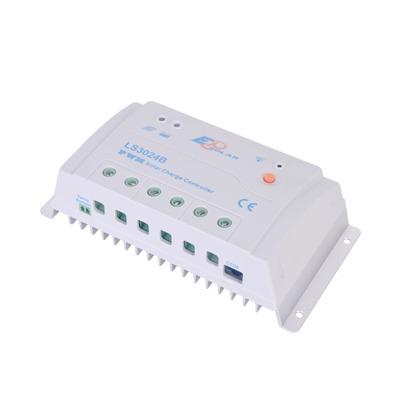 Controlador Solar de Carga y Descarga PWM12/24V 30A