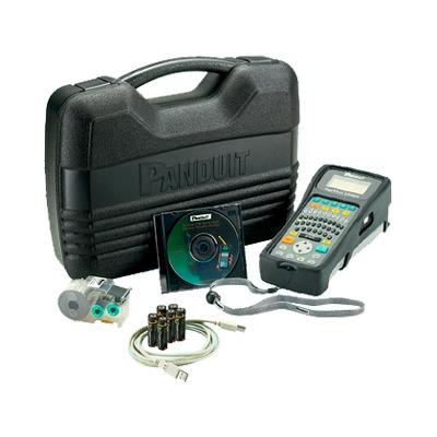 Kit de Impresora Etiquetadora, Para Identificación de Cables, Componentes y Equipos de Seguridad, Con Teclado Qwerty, de Transferencia Térmica, con Adaptador AC