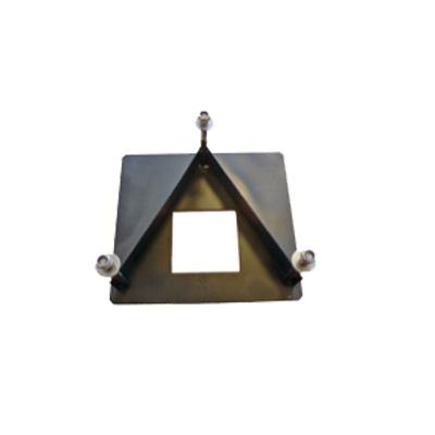 Base de fijacion en concreto/cemento para sujecion extra en terrenos no uniformes, con dificultades o poco compactos. Valida para modelos MALTA y CAV.
