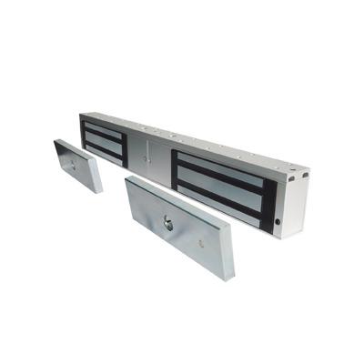 Chapa magnetica de 1200 Lbs /Para Puertas Dobles/ Interior/ LED / Sensor Bloqueo