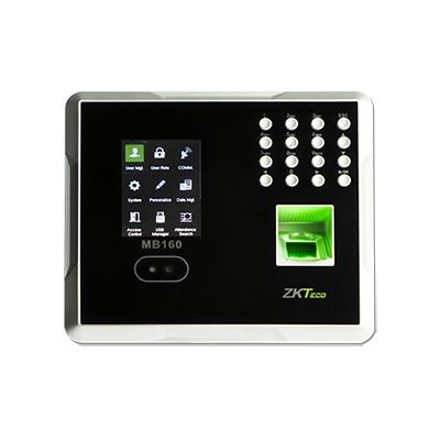 Checador Biométrico / Reconocimiento Facial / Huella /  Control de Acceso 1 Puerta / 1500 Rostros / 2000 Huellas / Incluye Función ADMS / Soporta DDNS