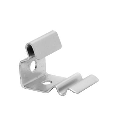 Clip de fijación varios usos, con acabado Electro Zinc