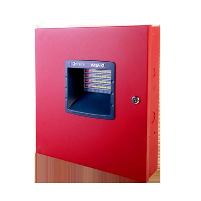 Sistema convencional de detección de incendio de 4 zonas