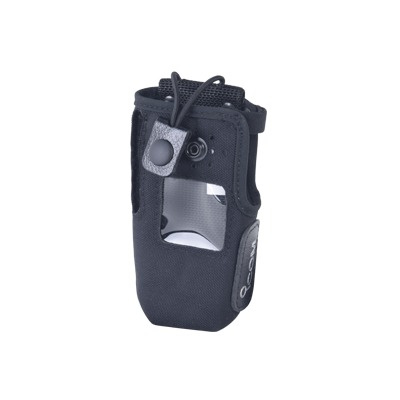 Funda de Nylon, clip metálico para cinto, correa con broche y visor frontal /  IC-F3161S/D,  IC-F3261S/D,  IC-F3360DS.