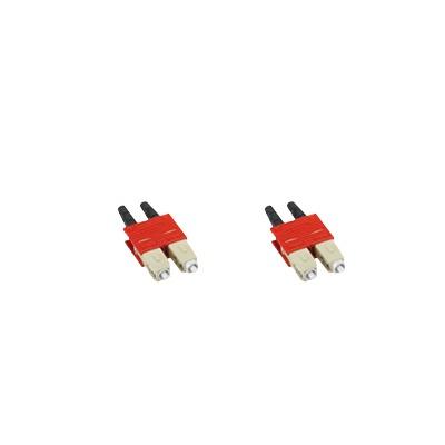 Clip para hacer dúplex 2 conectores LC simplex multimodo o monomodo