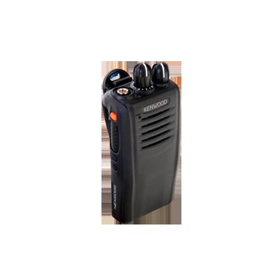 Radio portátil digital y FM, 5 W de potencia, 450-520 MHz, 64 canales sin pantalla y DTMF