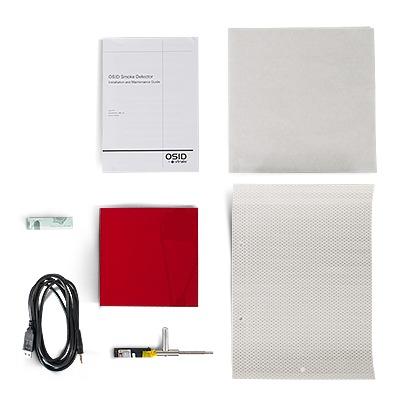 Kit de Instalación para Detectores OSI10, OSI45 y OSI90. Emisor y Escaneador