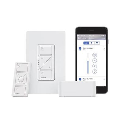 Control de iluminación, Kit Hub controlador, atenuador (dimmer), control y tapa.