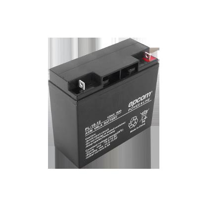 Batería con Tecnología AGM - VRLA, 18 Ah.