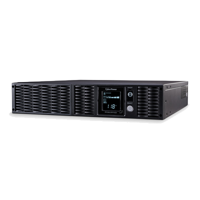 UPS 2150VA - 2150W  LCD Inteligente, Onda Senoidal Pura, Regulador de Voltaje (AVR), Convertible Torre-Rack 2U, 8 Conectores NEMA 20-R, RJ11-RJ45-Coax, USB-Serial, Paquete de baterías extendida
