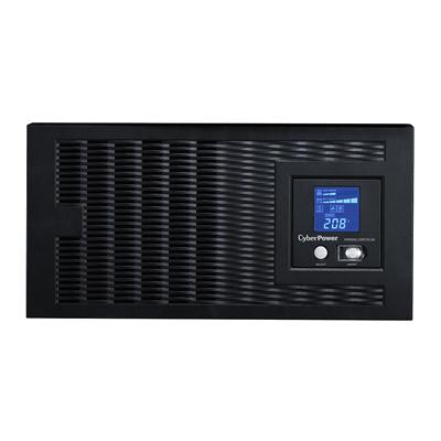UPS 5000VA - 4000W, 208-240Volts. No entrega salida de 120Volts. LCD Inteligente, Onda Senoidal Pura, Regulador de Voltaje (AVR), Gabinete Rack 5U, 3 NEMA L6-30R y 2 NEMA L6-20R, RJ11-RJ45, USB-Serial