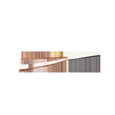 Cable para audio profesional calibre 18 en 2 hilos de color blanco, perfecto para bocinas y micrófonos, bobina de 152 m (500 ft)