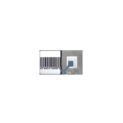 Paquete con 100 tags Etiqueta Adherible RF 40 x40 mm