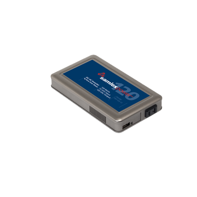 Inversor de corriente 120W, Ent: 12 VCD, Sal: 120VCA de Uso 24-7 para Domos PTZ