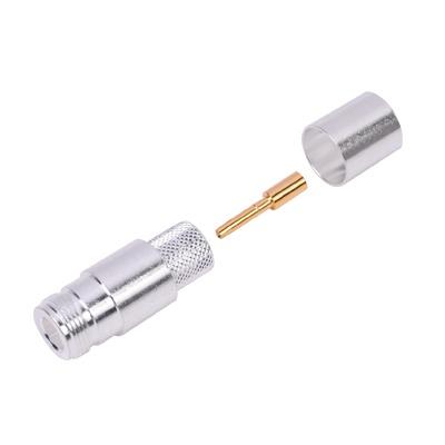 Conector N Hembra de Anillo Plegable para Times LMR-600, Belden 7977A (RF-600) o Andrew CNT-600.
