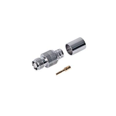 Conector TNC Hembra para 9913, 7810A, 8214, CNT-400, RG8/U-SYS, RFLASH-1113.