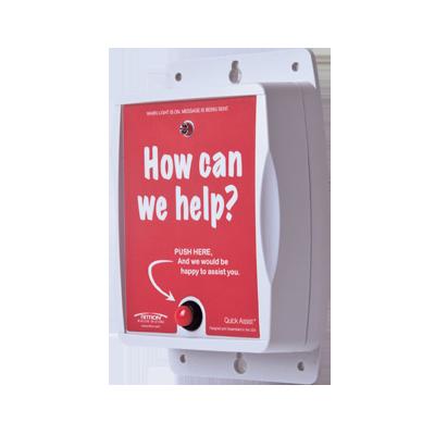 Quick Assist  UHF 150-165 MHz, Solicitud de Asistencia Rápida, Ideal para Tiendas Departamentales