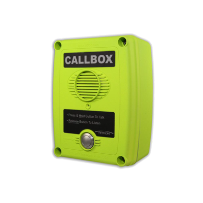 Callbox, Intercomunicador Inalámbrico Vía Radio VHF 150-165MHZ, Serie Q1 Color Verde