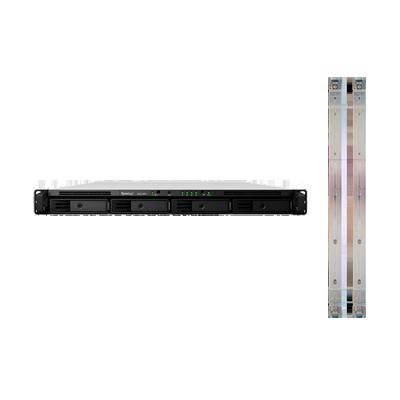 Servidor Nas para rack de 4 bahías, expandible 64TB con Rail Kit incluido