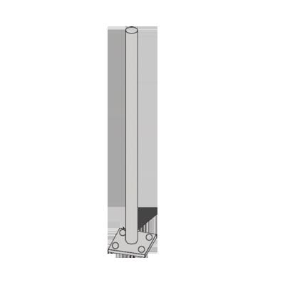 Mástil superior para placa superior de torres RSL