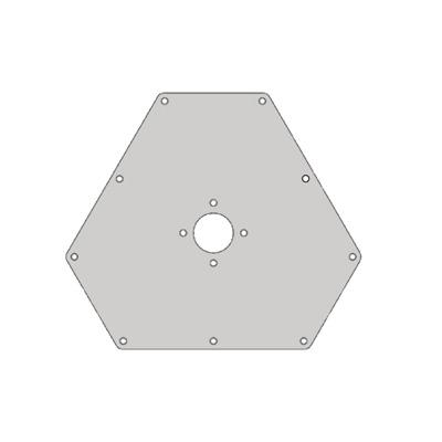 Placa superior para Torres RSL seccion 8.