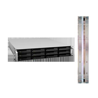 Unidad de expansión de 12 bahías para modelo RS10613XSPLUS con Rail Kit incluido