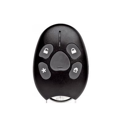 Llavero-control remoto con botón de emergencia