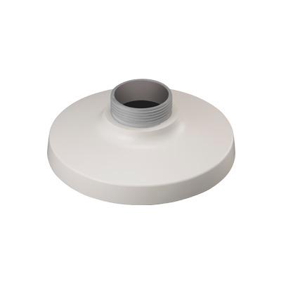Montaje adaptador tipo plato necesario para pared o techo en domos fijos