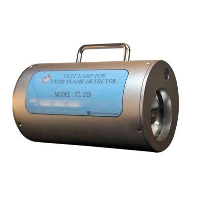 Lámpara de Prueba UV/IR, Genera Radiación UV/IR Similar al Fuego, Diseñada para Pruebas Sencillas y Seguras