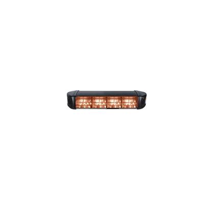 4 módulos de luz color ámbar (no incluye patrones de direccionamiento)
