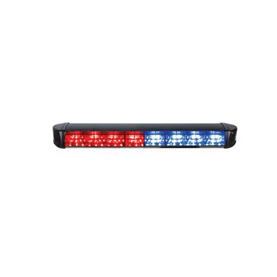 Luz de Advertencia LATITUDE.  Con 4 módulos rojos, 4 módulos azules (R-R-R-R-A-A-A-A)