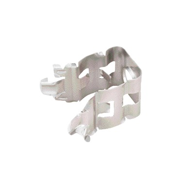 Sujetador de presión para cable Heliax de 1-1/4. Paquete de 10 piezas