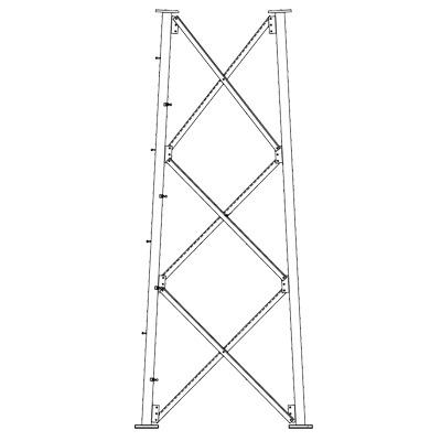 Sección 10 Base para Torre Autosoportada línea SSV (Código de Fábrica: 10N183)