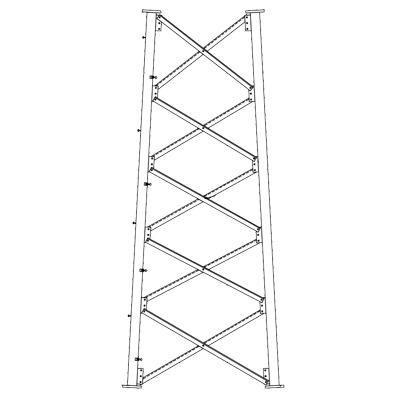 Sección 7 Base para Torre Autosoportada línea SSV (Código de Fábrica: 7N165)