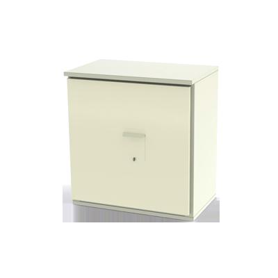 Gabinete de Cuerpo Robusto, Ideal para resguardar Baterías (Hasta 12 Baterías PL110D12) y Equipo de Comunicación.