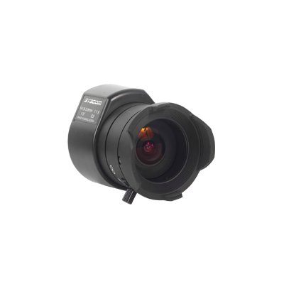 Lente varifocal para exterior, distancia focal 1.8-3.6 mm