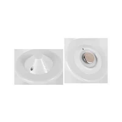 Paquete 100 pzas Tags blanco mini UFO blanco especializado para Ropa