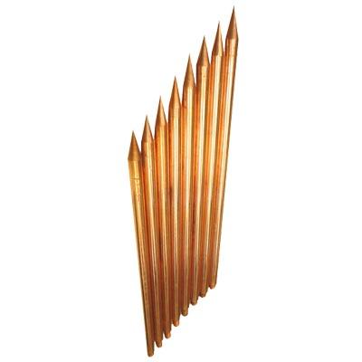 Varilla de Acero con Recubrimiento de Cobre Diámetro 1/2 de 1 m de Largo (1 Pieza).