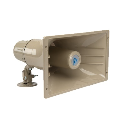 Bocina y micrófono para exterior, requiere unidad de conversación AOP-SP70