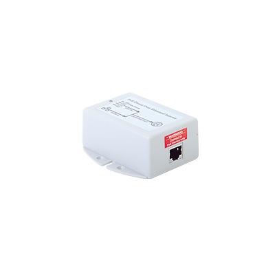 Inyector POE para Aplicación Solar, Entrada 9-36 Vcd, Salida Pasivo en 24 Vcd 10/100/1000 Mbps, Hasta 19 Watts