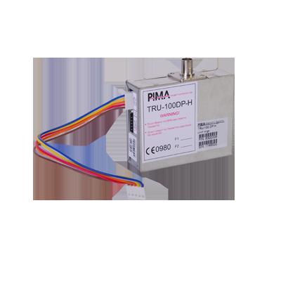 Radio PIMA compatible con SAT8, SAT9PID y Panel de la serie HUNTER de PIMA con  frecuencia de operación 470 A 500 MHz A 2.5W