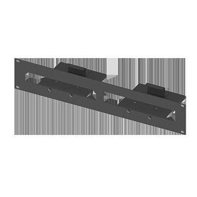 Adaptador Rack para un equipo ERLITE3 y un TS5POE.