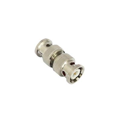 Conector doble BNC macho para cable coaxial RG59/RG6