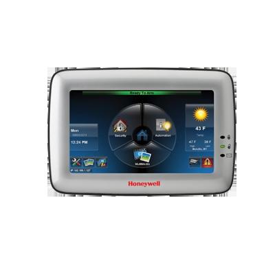 Teclado servidor de video sensible al tacto con automatización z-wave. Color gris