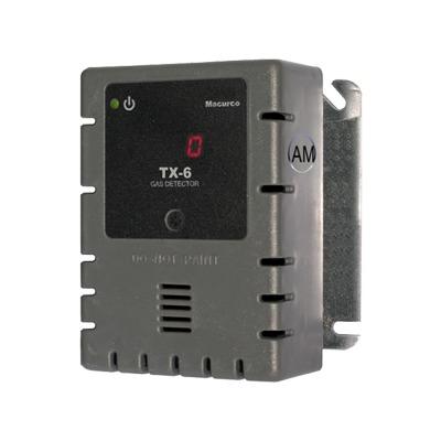 Detector, Controlador y Transductor de Amoníaco (NH3) para Panel de Detección de Incendio