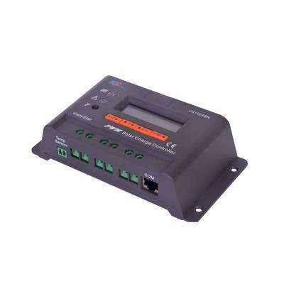 Controlador Solar de Carga y Descarga PWM 12/24V 10A con Display