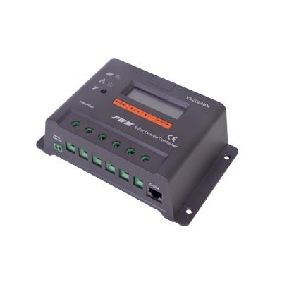 Controlador Solar de Carga y Descarga PWM 12/24V 20A con Display