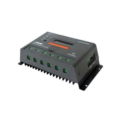 Controlador Solar de Carga y Descarga PWM 12/24V 30A con Display