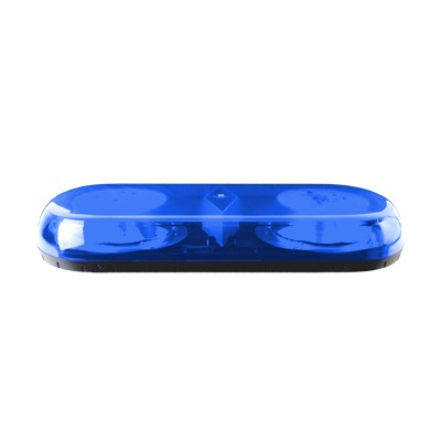 Mini barra de luces serie X606 con 18 LED, color azul y montaje permanente